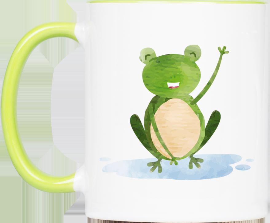 """Tasse Frosch """"Hallo"""" (330, 340, 450 ml)"""